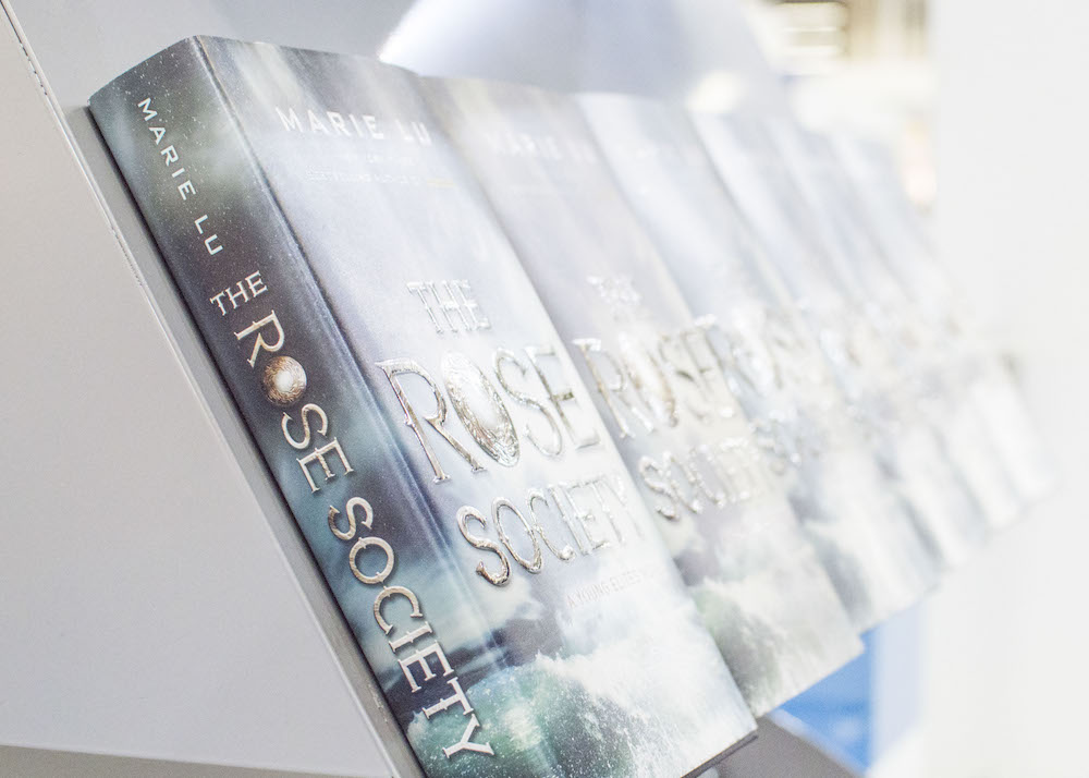 Frankfurt Book Fair 2015: Row of The Rose Society at Penguin Random House