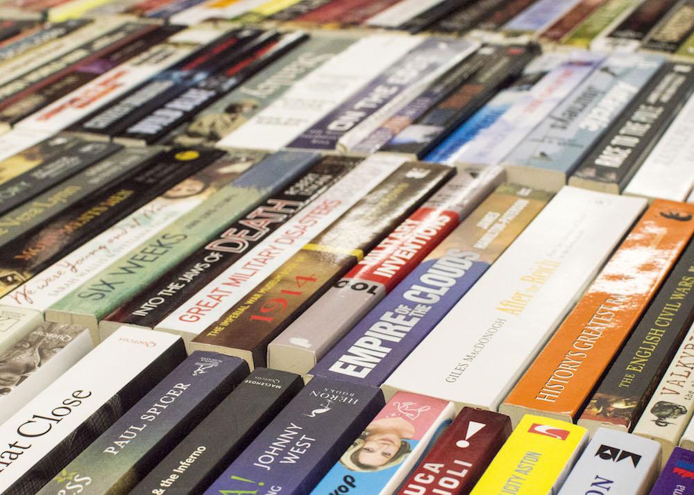 Frankfurt Book Fair 2015: Books for sale
