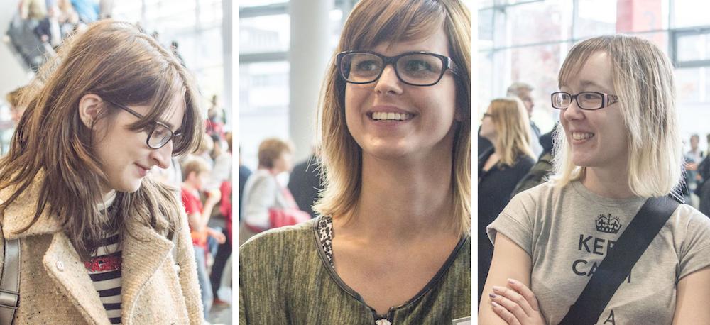 Frankfurt Book Fair 2015: Mara, Daniela & Anja at the bookstagram meet