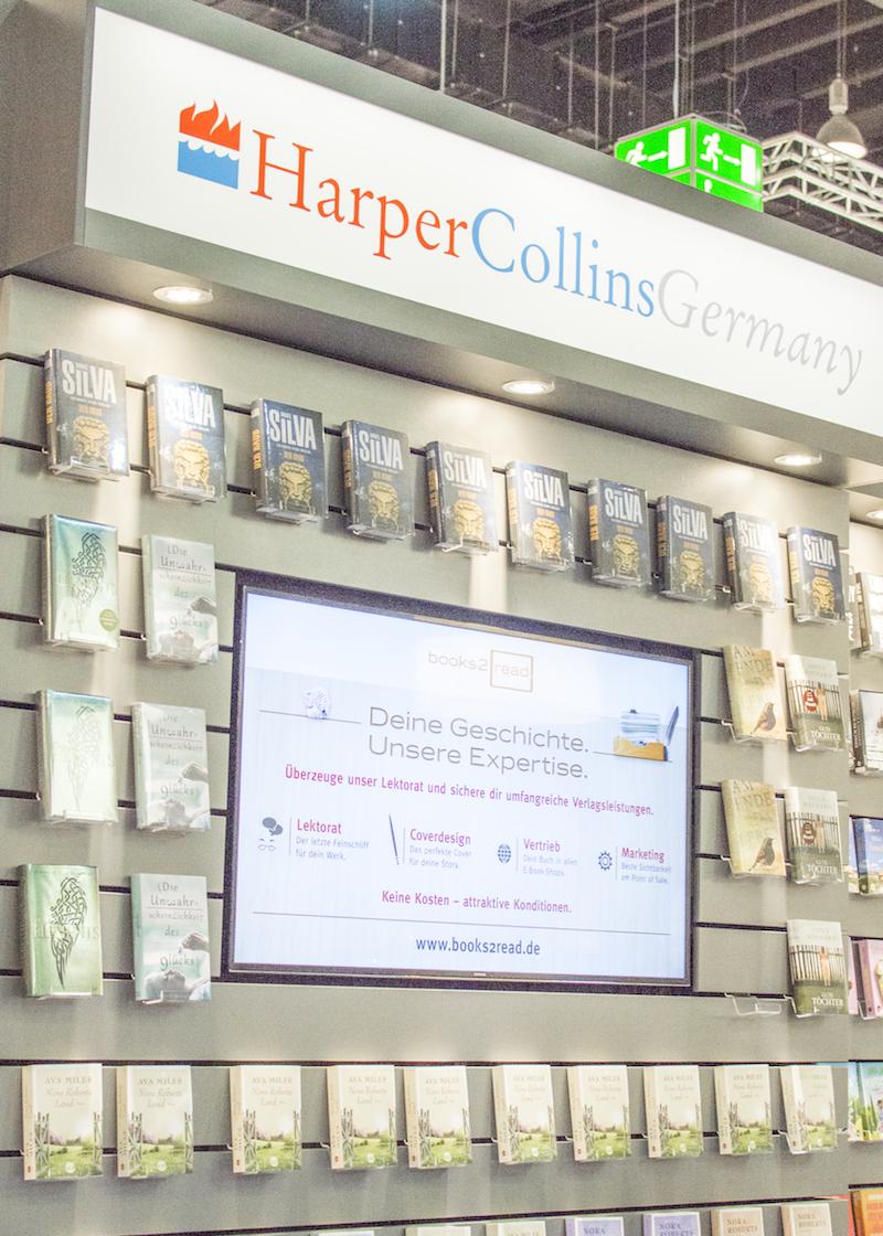 Frankfurt Book Fair 2015: HarperCollins Germany