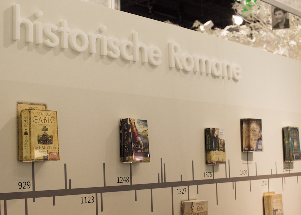 Frankfurt Book Fair 2015: Timeline featuring historical fiction novels