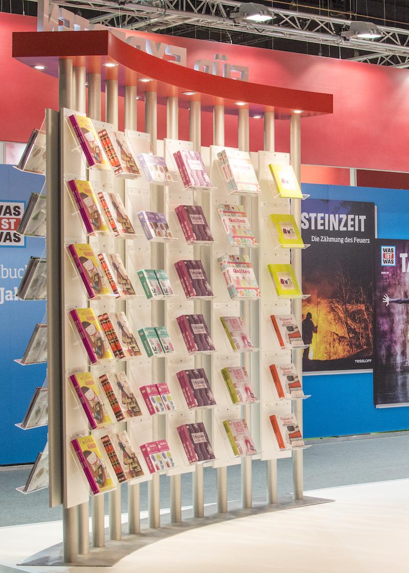 Frankfurt Book Fair 2015: Book wall