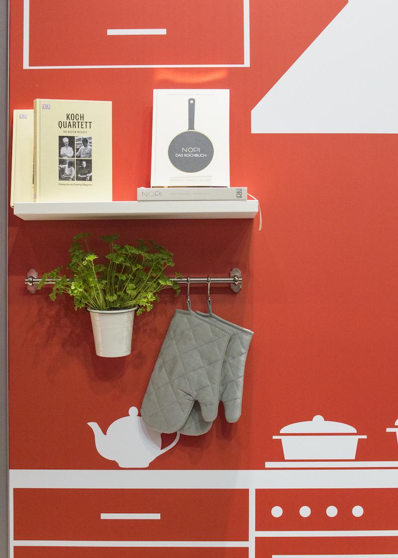 Frankfurt Book Fair 2015: Kitchen set-up