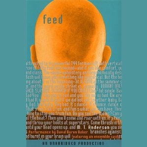 "feed mt anderson essay In the dystopian world mt anderson created in feed, human beings are thought of as consumers first and as people second, if at allthe ""feed"" the title refers to is a chip implemented in people's brains at a young age and which allows them to be constantly connected to feednet."