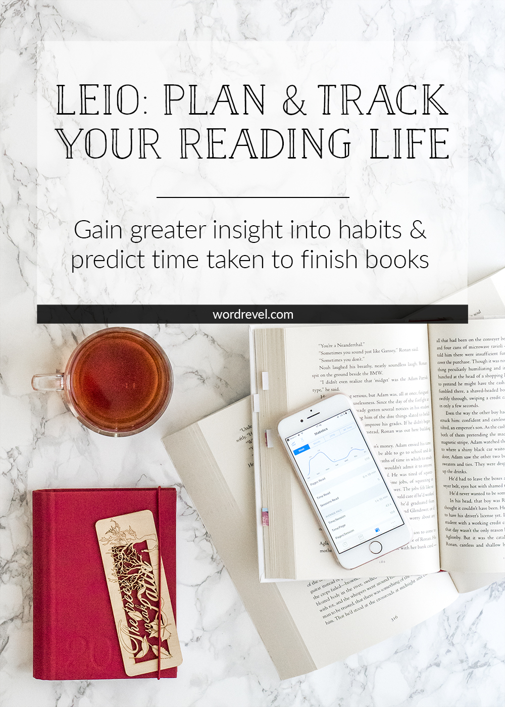 Leio: Plan and Track Your Reading Life | wordrevel.com