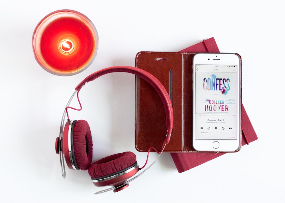 Listening to the audiobook Confess