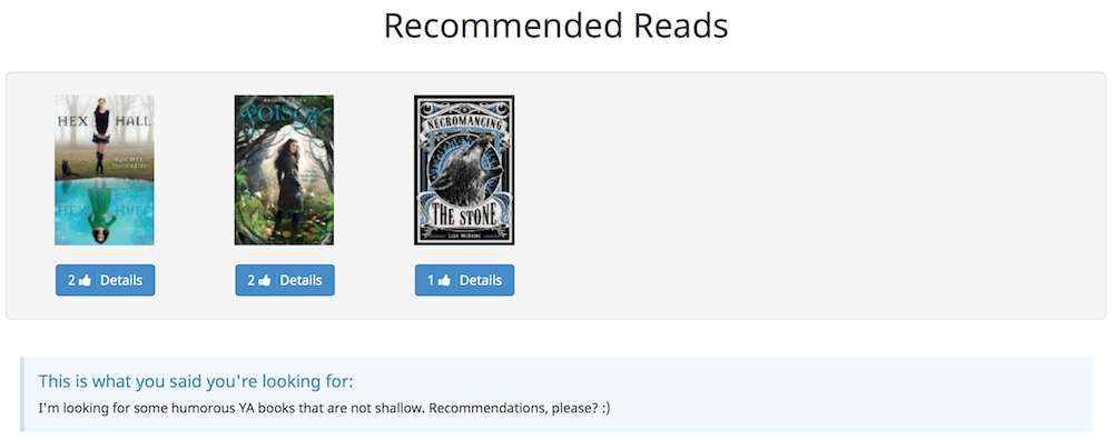 Literally recommended reads