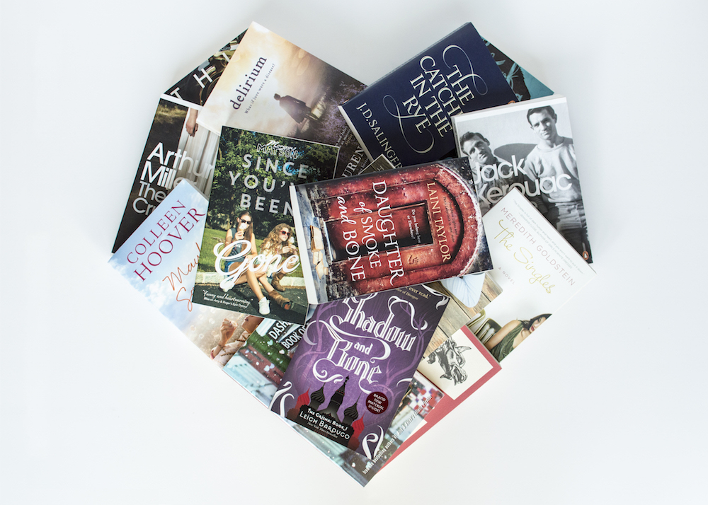 Love-a-thon heart of books