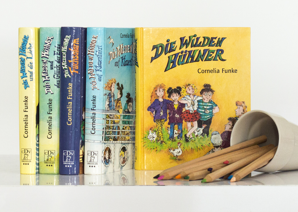 Mise-en-scene: Childhood Favourite — Die Wilden Hühner by Cornelia Funke