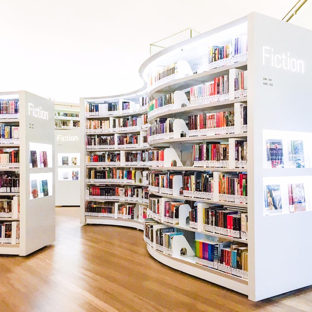 Mise-en-scène: Local Library