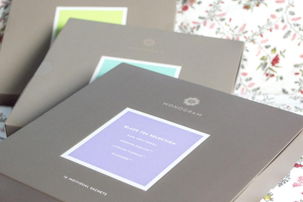 Monogram Tea Selections