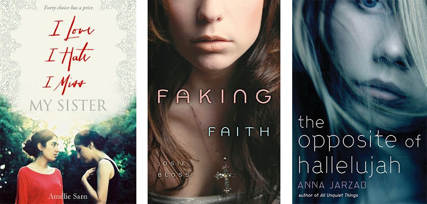 Reformation Day Book Recs: I Love I Hate I Miss My Sister, Faking Faith, The Opposite of Hallelujah