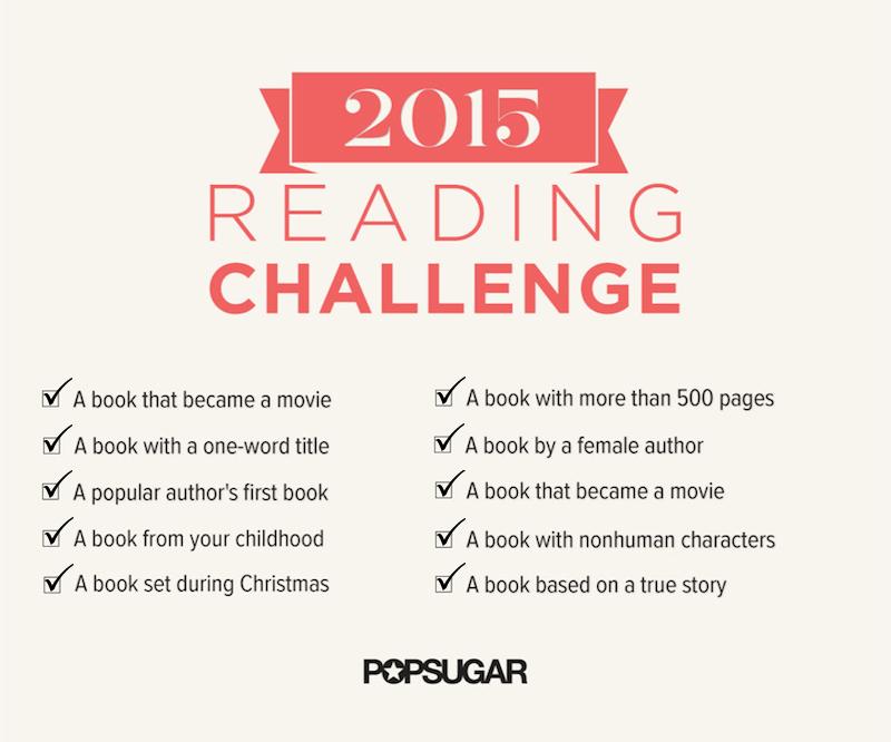 Popsugar 2015 Reading Challenge January Progress