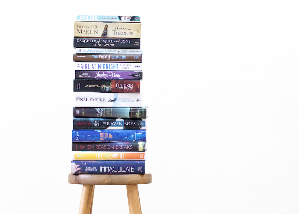 Quantified Reading Book Stack