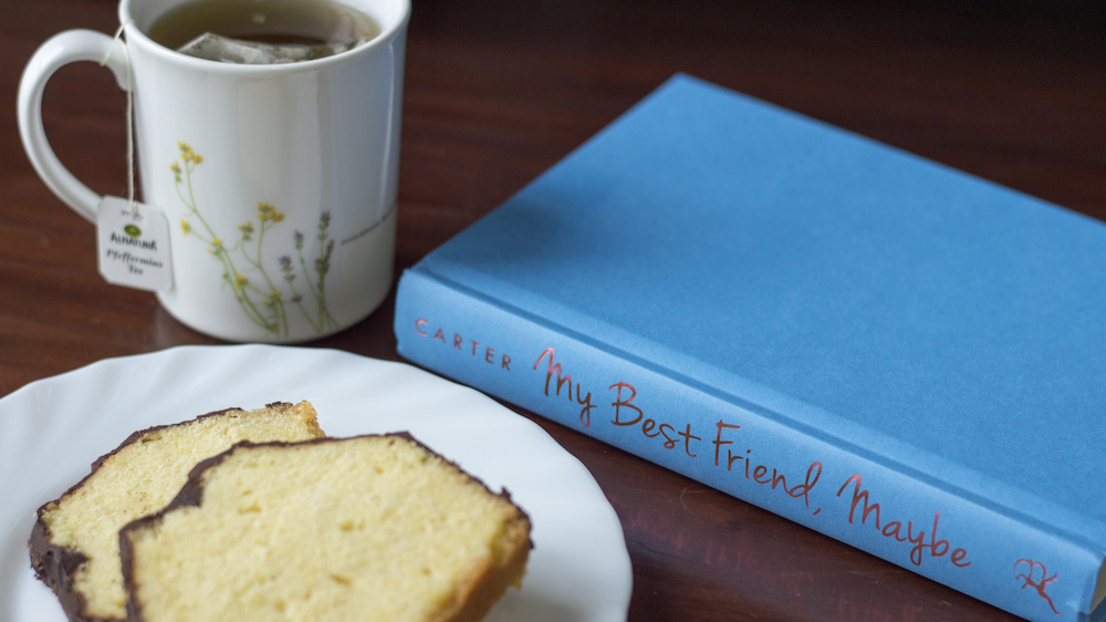 Reading - My Best Friend Maybe by Caela Carter