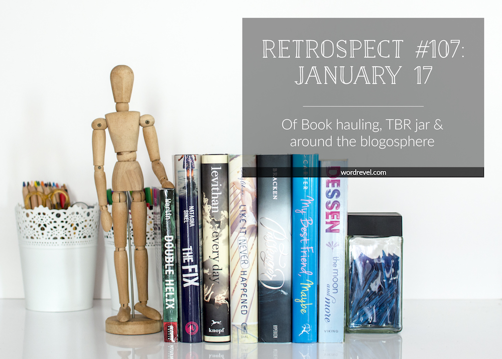 Restrospec #107 (Jan 17, 2016): Of book hauling, TBR Jar & around the blogosphere