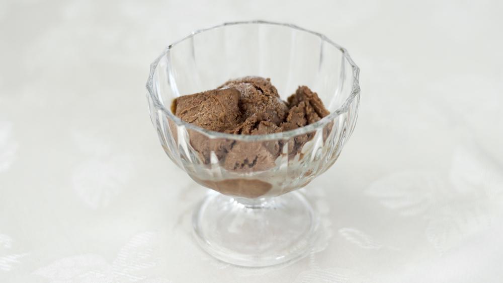 Banana chocolate ice cream