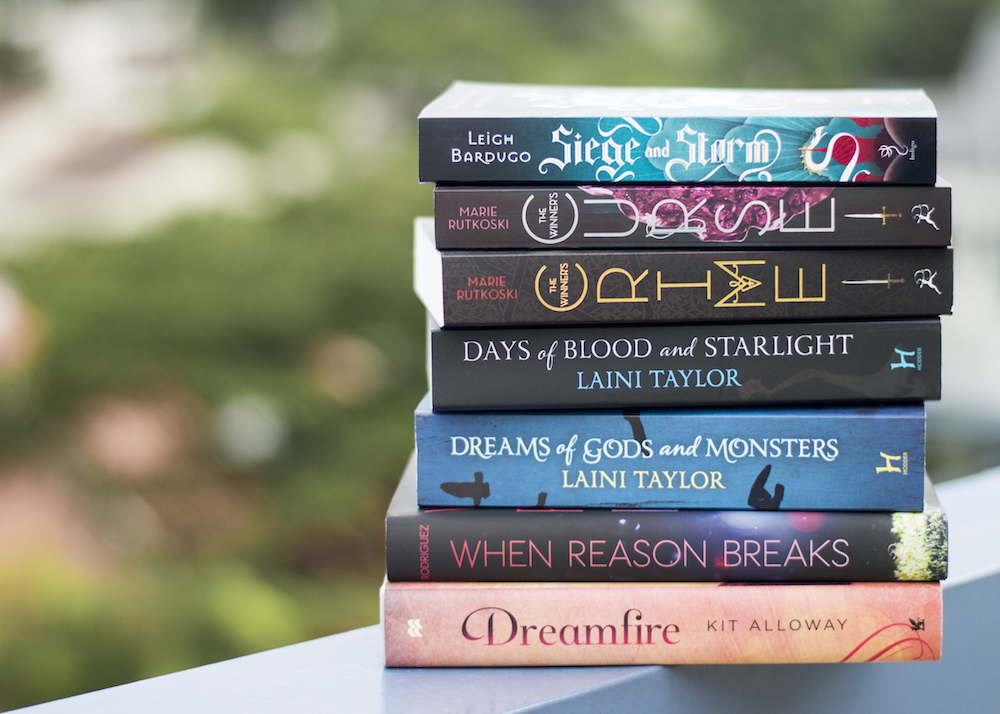 Book haul for weeks leading up to April 12, 2015