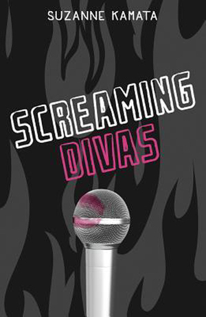 Book cover of SCREAMING DIVAS by Suzanne Kamata