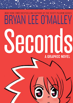 Book cover by SECONDS by Bryan Lee O'Malley