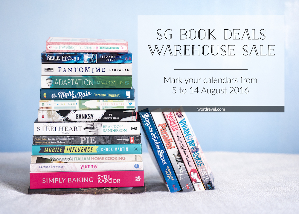 SG Book Deals Warehouse Sale, Singapore, Aug 5–14 2016
