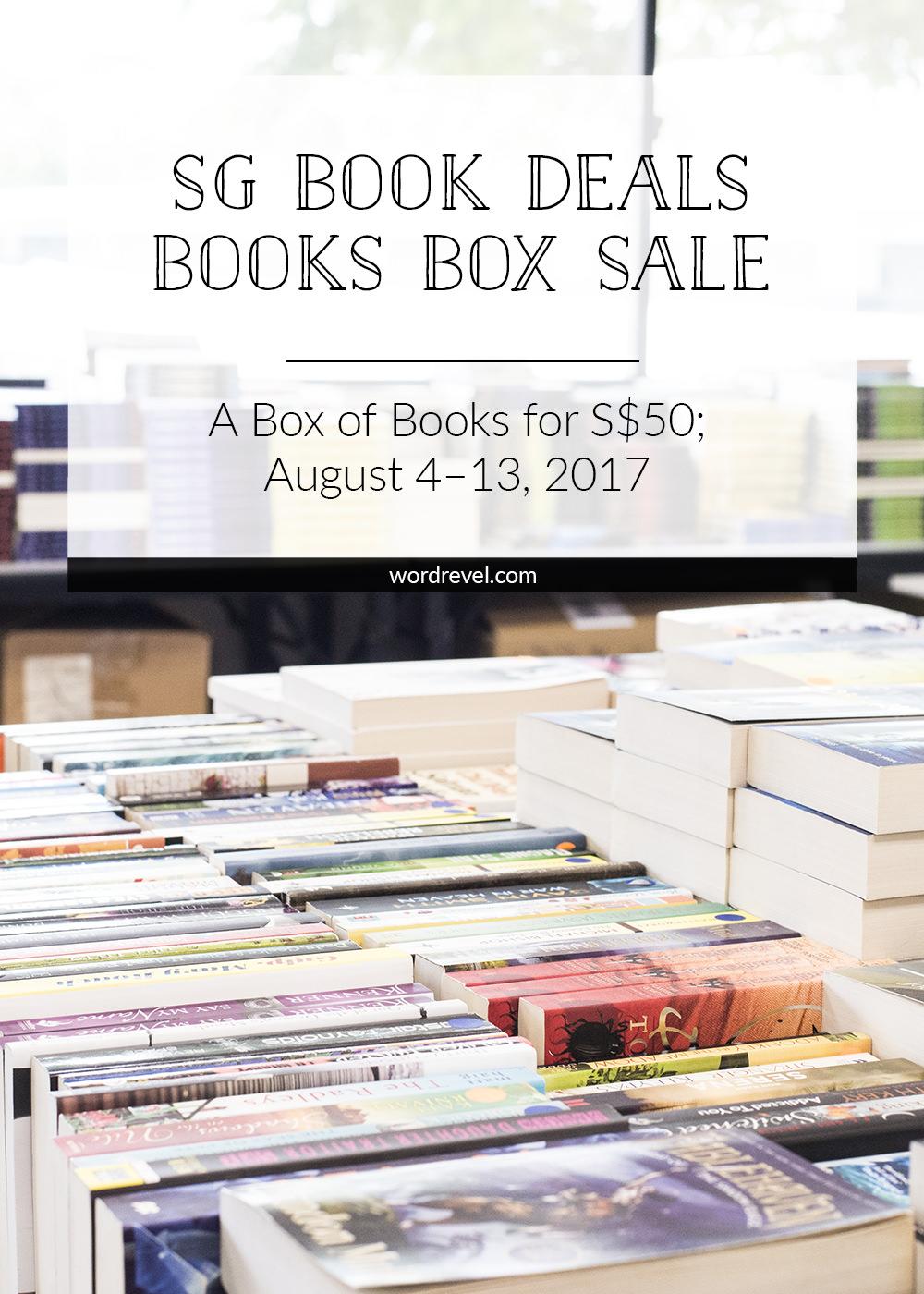 SG Book Deals Books Box Sale 2017