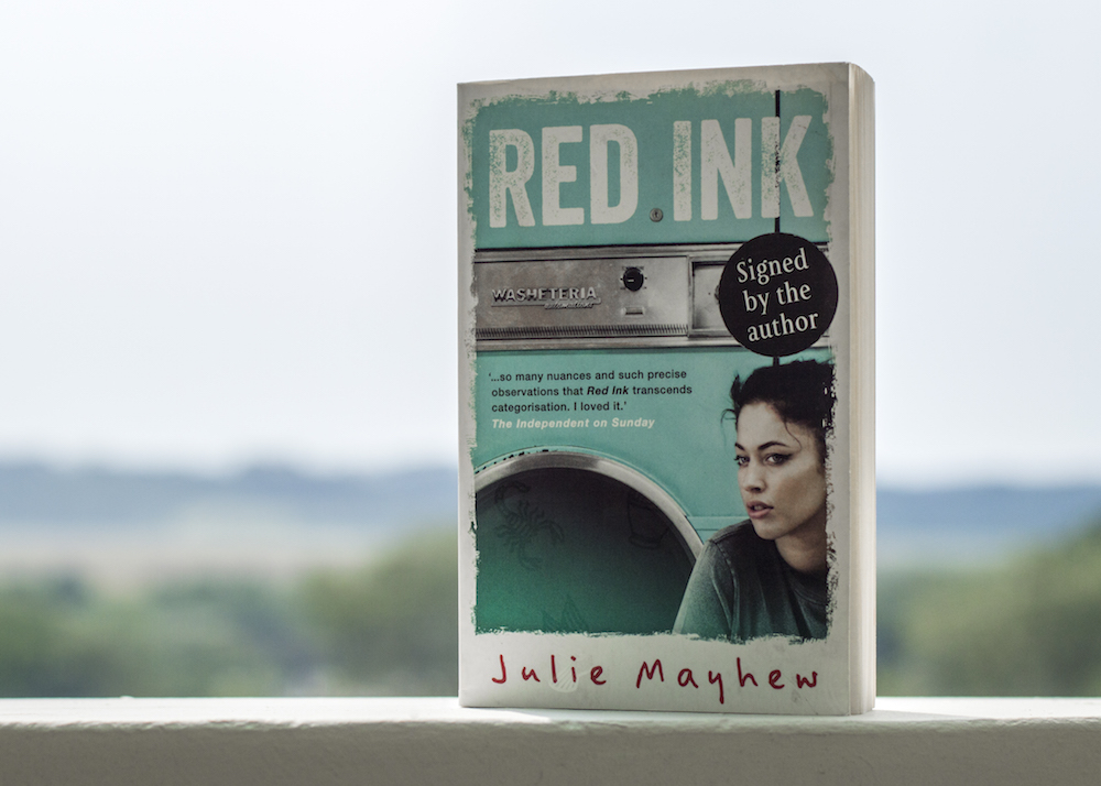 Signed copy of Red Ink by Julie Mayhew