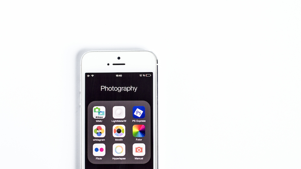 Smartphone photography apps