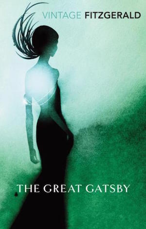 Book cover of THE GREAT GATSBY by F. Scott Fitzgerald