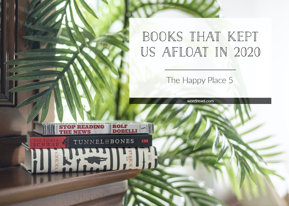 The Happy Place 5: Books That Kept Us Afloat in 2020