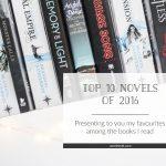 Top 10 Novels of 2016