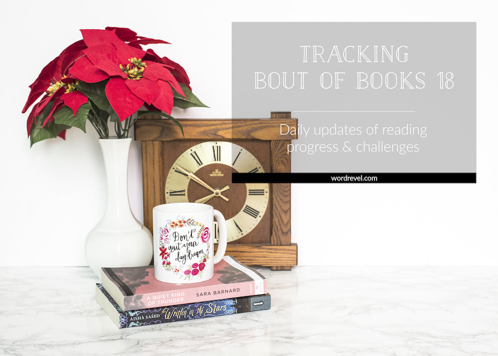 Tracking Bout of Books 18 — Daily updates of reading progress & challenges