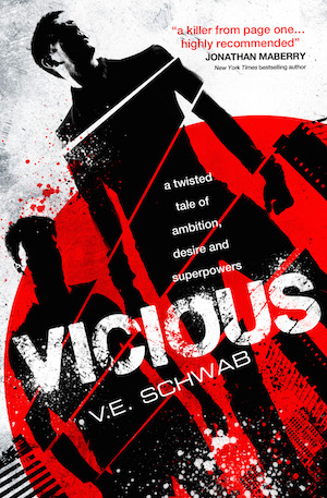 Book cover of VICIOUS by V.E. Schwab