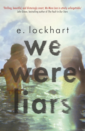 Book cover of WE WERE LIARS by E. Lockhart